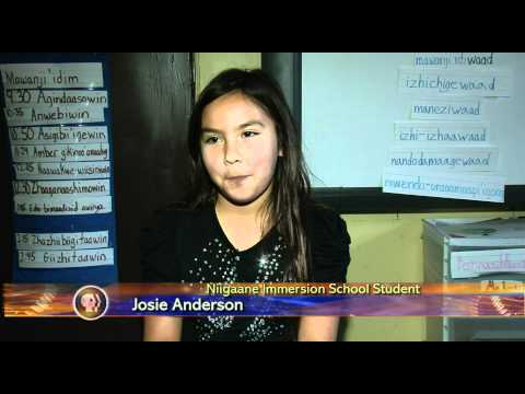 Golden Apple Restoring the Ojibwe Language - Lakeland News at Ten - January 5, 2012.m4v