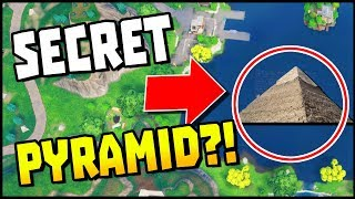 SECRET PYRAMID In Loot Lake?... Think Again! | Fortnite Season 5 Battle Royale