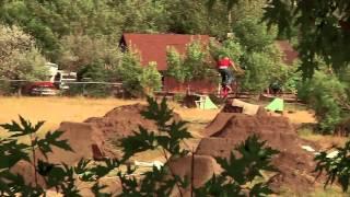 BMX Dirt Jumping - Brian Banghart's Backyard Trails