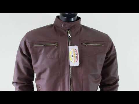 Jaket Kulit Pria Dark Brown Elegant Series Original By Silverstone Leather  Apparel with Opening 4713b3aab2