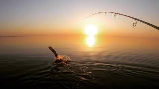 ОЗ ИЛЬМЕНЬ ЩУКИ ЗАКАТЫ Рыбалка с ночевкой Часть 1