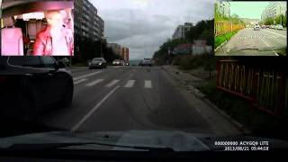ДТП Мурманск(с 1-45 автор видео - Сергей Солкин
