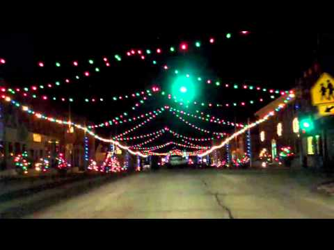Wyoming, Iowa Christmas Lights