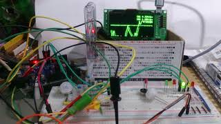 積算測定版@焦電型赤外線センサー(AKE-1)テスト