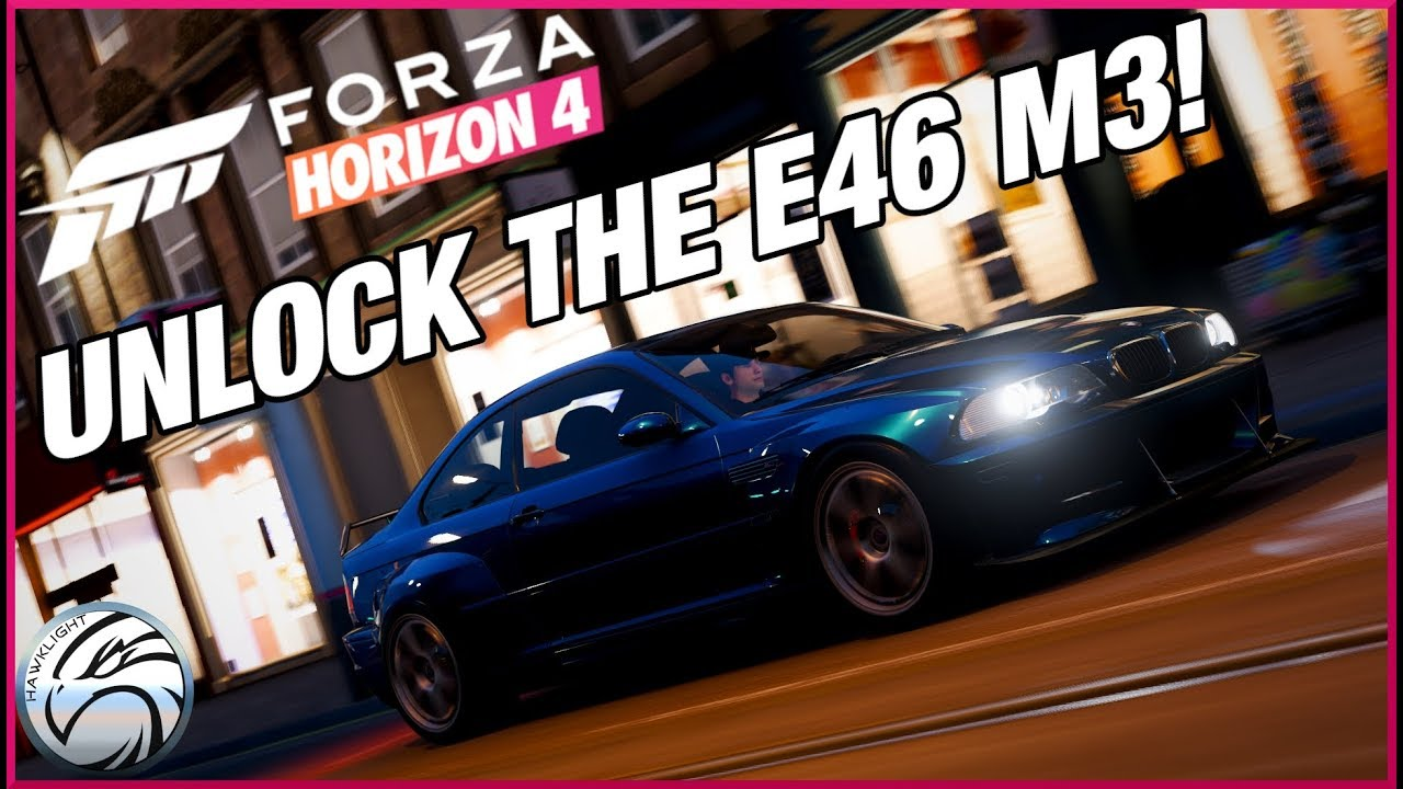 forza horizon 4 how to unlock the bmw e46 m3 39 05 test. Black Bedroom Furniture Sets. Home Design Ideas