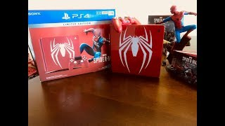 Marvel's Spider-Man Limited Edition Red PS4 Slim 1TB Console