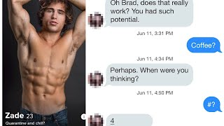 CHAD VS BRAD ON TINDER - WHO CAN SCORE MORE DATES