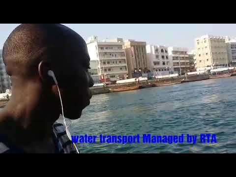 BUR DUBAI WATER CROSSING BY WATER TRANSPORT TO DEIRA. DON'T like THIS VIDEO