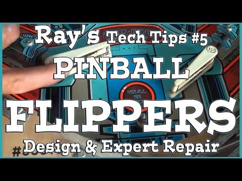 Ray's Pinball Tech Tips #5 - Flippers!