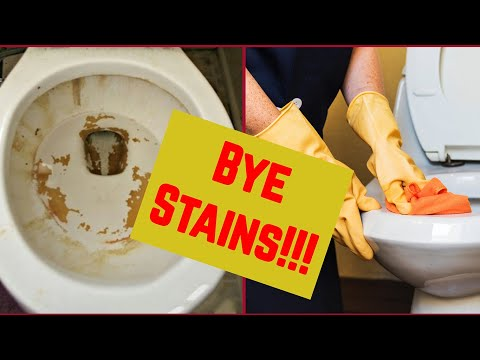 The Best Way to Clean Your Toilet Bowl. Remove Hard Water STAINS From It NOW!