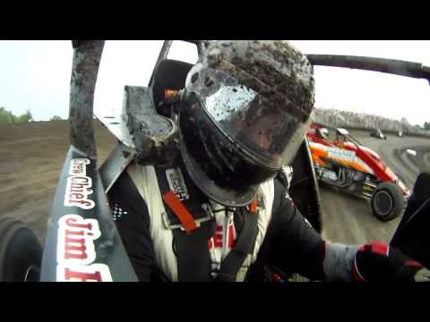 Andrew Elson Sprintcar Heat With Track Cam 7-29-11