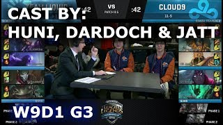 Video TL vs C9 - cast by Huni, Dardoch & Jatt (NA LCS Lounge) | Week 9 Day 1 S8 NA LCS Spring 2018 download MP3, 3GP, MP4, WEBM, AVI, FLV Agustus 2018