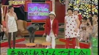 山崎真実 風船割り対決で奇跡 山崎真実 動画 6
