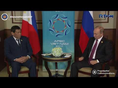 Bilateral Meeting with President Vladimir Putin of Russia 11/09/2017