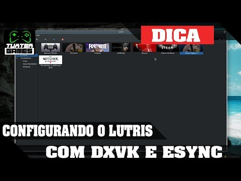 Configurando Lutris DXVK + Esync