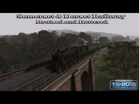 Train Simulator 2015 - Standard Scenario - Somerset & Dorset Railway - Bruised and Battered Part 1  