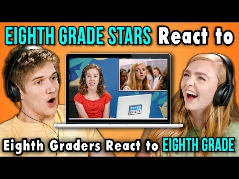 BO BURNHAM AND ELSIE FISHER REACT TO EIGHTH GRADERS REACT TO EIGHTH GRADE Mp3