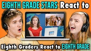 BO BURNHAM AND ELSIE FISHER REACT TO EIGHTH GRADERS REACT TO EIGHTH GRADE thumbnail