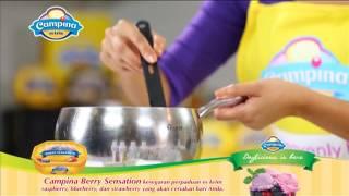 Panna Cotta With Sauce Berry Ala Chef Farah Quinn