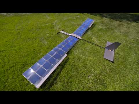 SOLAR Plane V3 Long Duration Test Flight - RCTESTFLIGHT