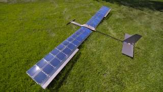 SOLAR Plane V3 Long Duration Test Flight - RCTESTFLIGHT