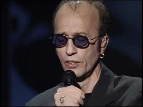 Bee  Gees (ROBIN GIBB)  -  I  STARTED A JOKE  (lyrics on screen)