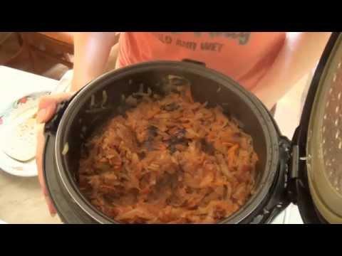 Тушеная капуста с черносливом в мультиварке Redmond, быстро, просто, вкусно