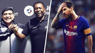Pelé and Maradona roasting Leo Messi! | Oh My Goal