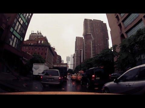 Cab Ride NYC 10: Alex Pudas - Deep Blue Day