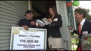 PCH $10,000 Winner – Robert Porfidio