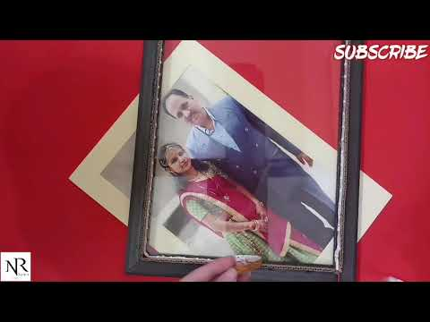 How to make led photo frame, how to convert simple frame into led frame