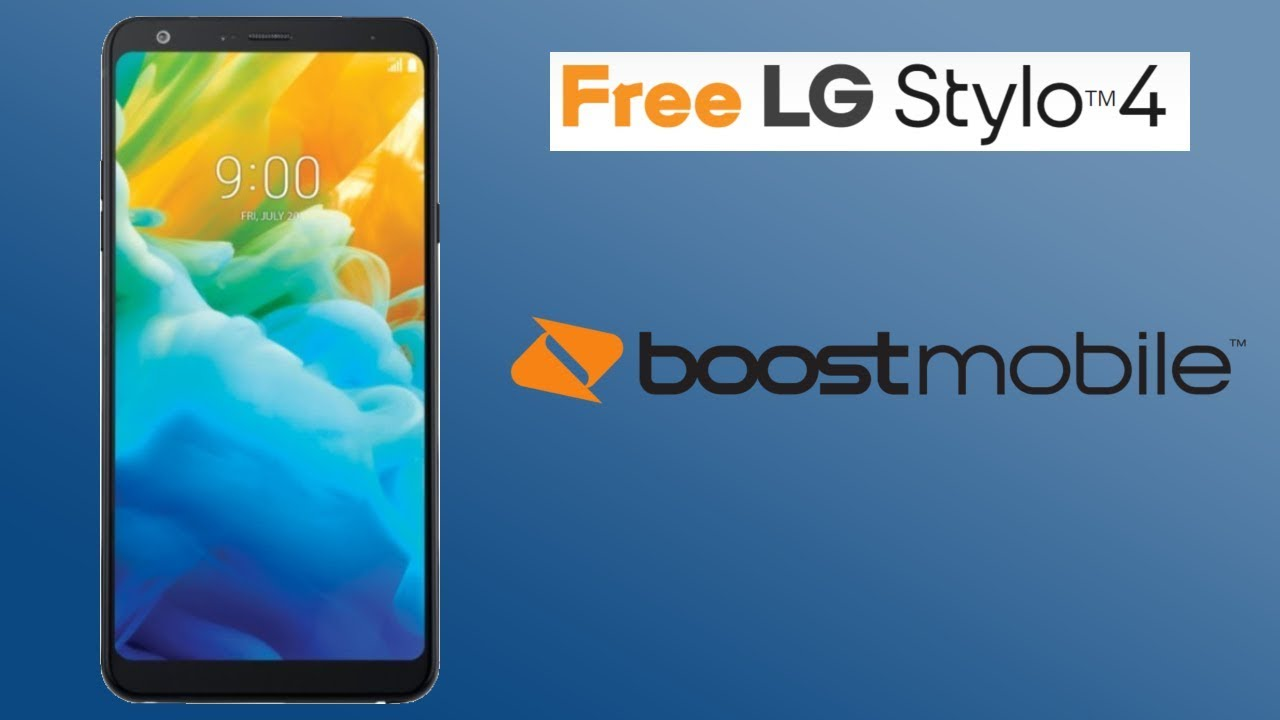 Free LG Stylo 4 Boost Mobile Promotion (HD)