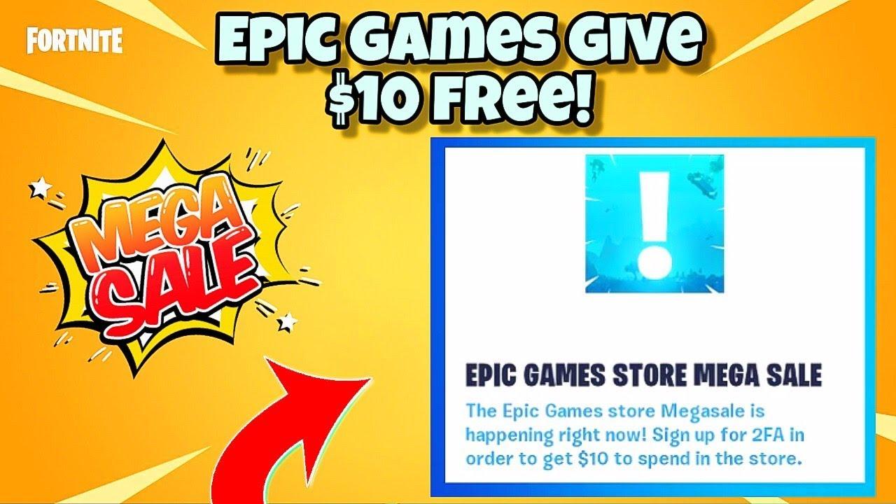 NEW* Epic Games Store MEGA Sale (FREE $10) For Fortnite