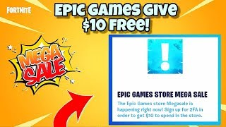 *NEW* Epic Games Store MEGA Sale (FREE $10) For Fortnite Users EXPLAINED! 100% REAL - Fortnite BR