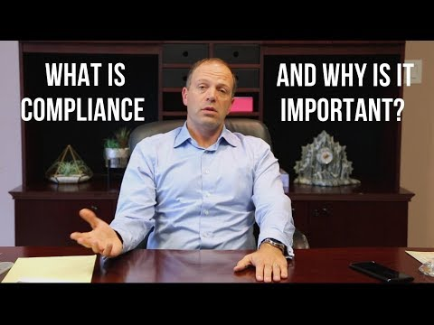 What Is Compliance And Why Is It Important?