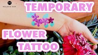DIY Temporary Flower Tattoo - HGTV Handmade