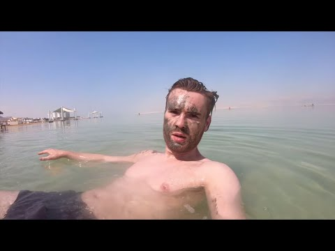 Swimming in the DEAD SEA, the Lowest Point On Earth