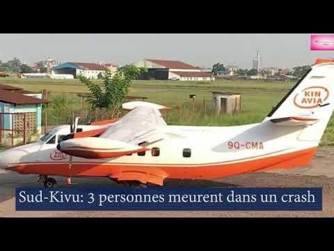 Download Sud-Kivu: un autre crash d'avion à Kavumu fait 3 morts