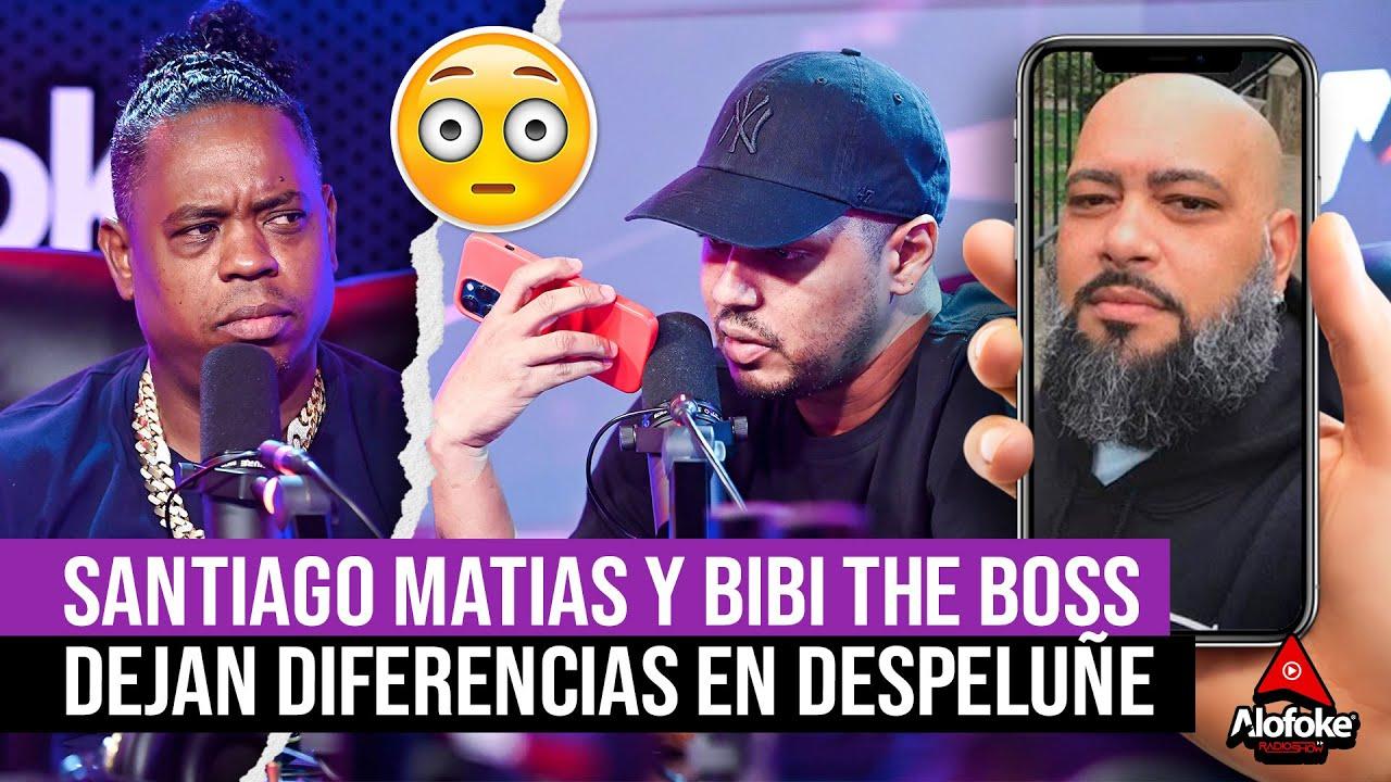 SANTIAGO MATIAS & BIBI THE BOSS DEJAN SUS DIFERENCIAS EN LLAMADA TELEFONICA EN EL DESPELUÑE DJ TOPO