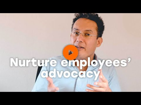 Nurture employees' advocacy of your brand and property