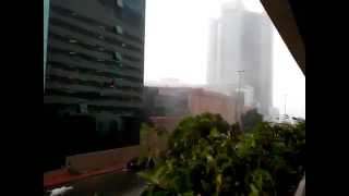 Heavy rain in Jeddah, KSA [November 16, 2014 @ 2:15PM]