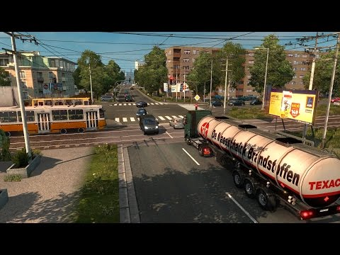 Euro Truck Simulator 2 HUNGARY MAP v0.9.28 Gameplay P.28