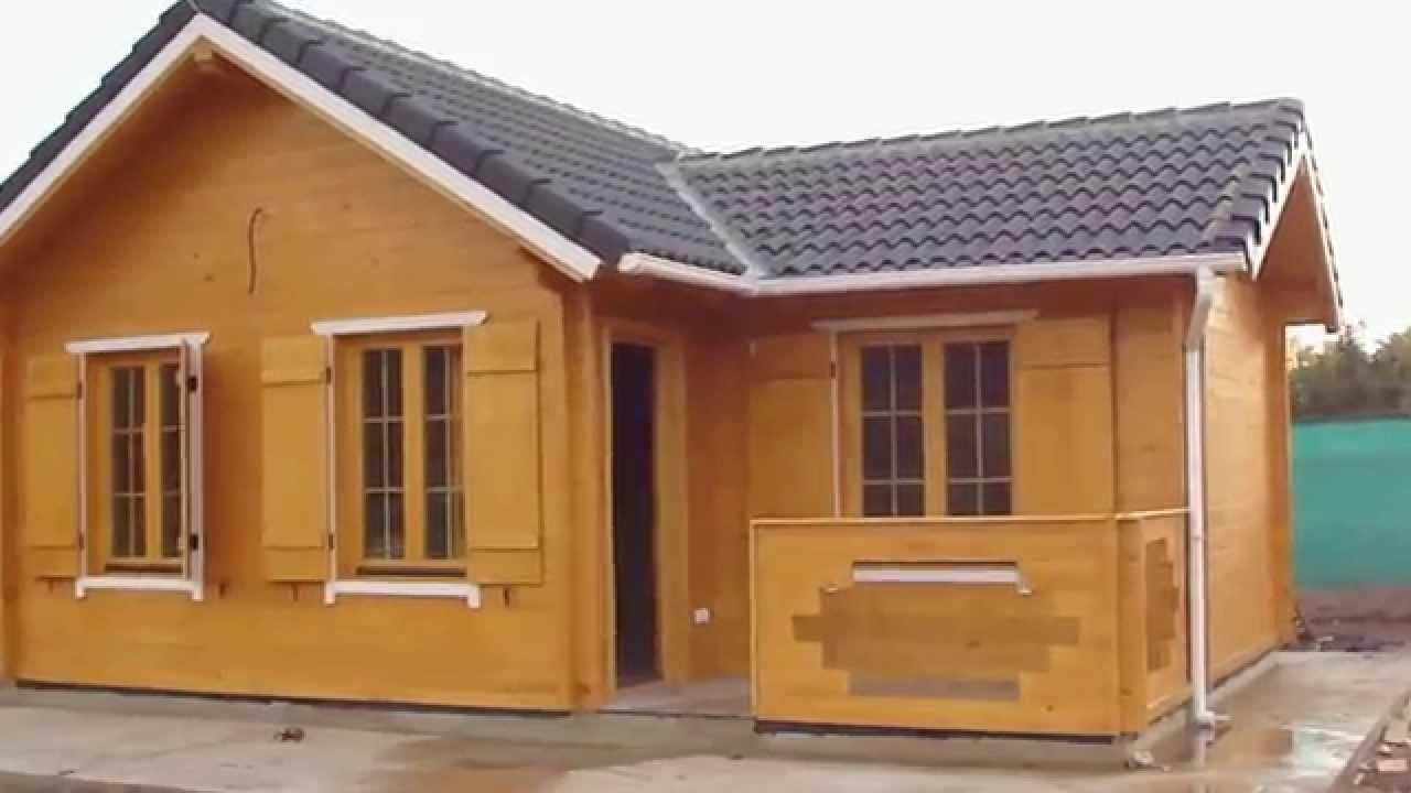 Infomader casas de madera modelo minerva 50m2 contando for Casas prefabricadas pequenas