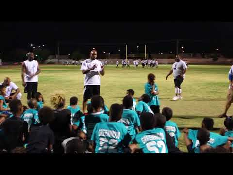 Morlon Greenwood Foundation Inaugural Football Camp Las Vegas