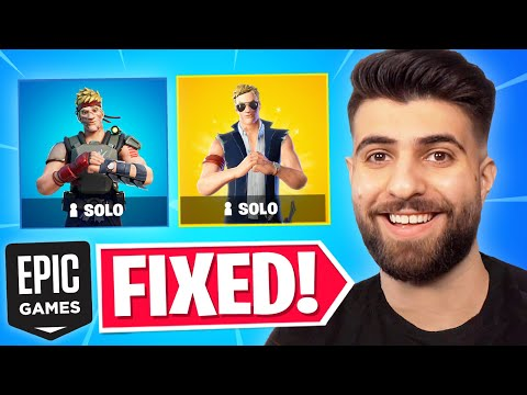 Epic Just FIXED Solos...