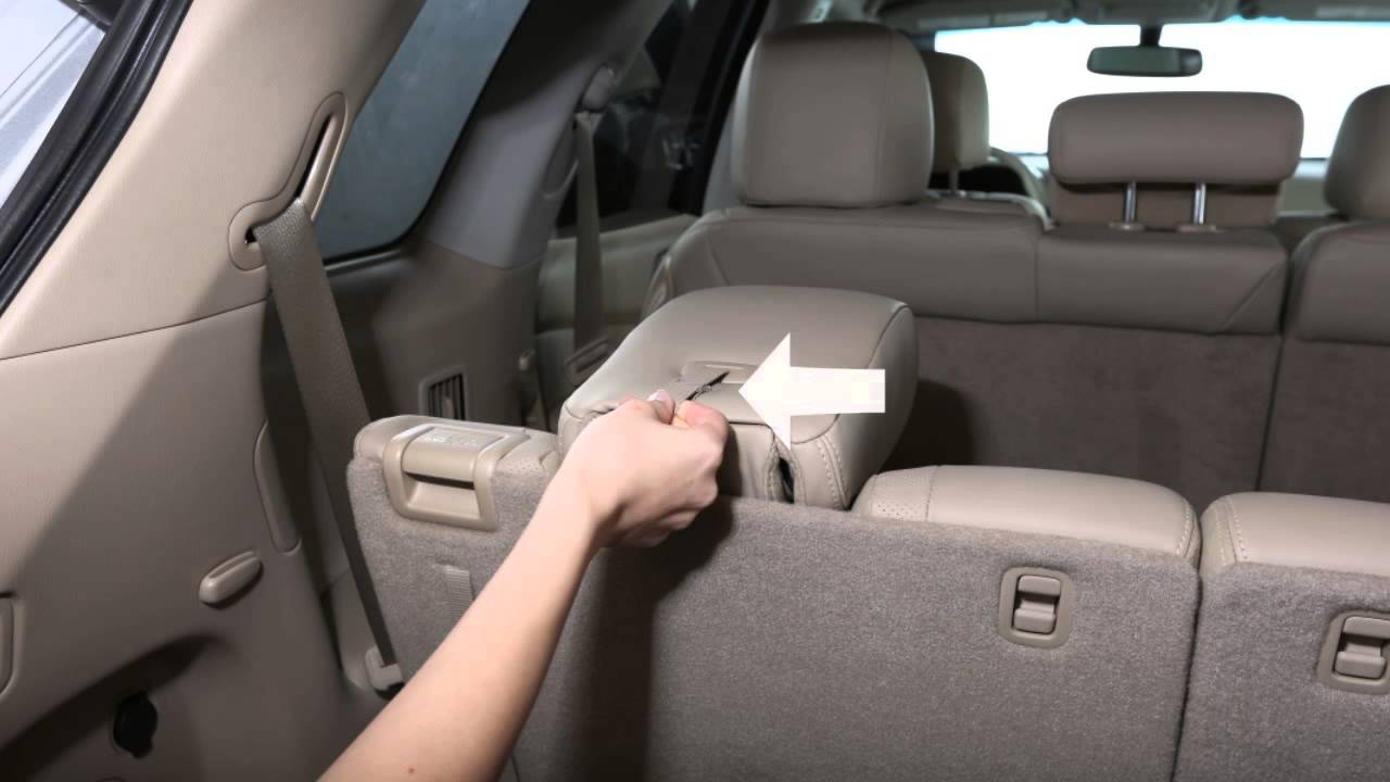 Nissan Rogue Service Manual: Third row seat