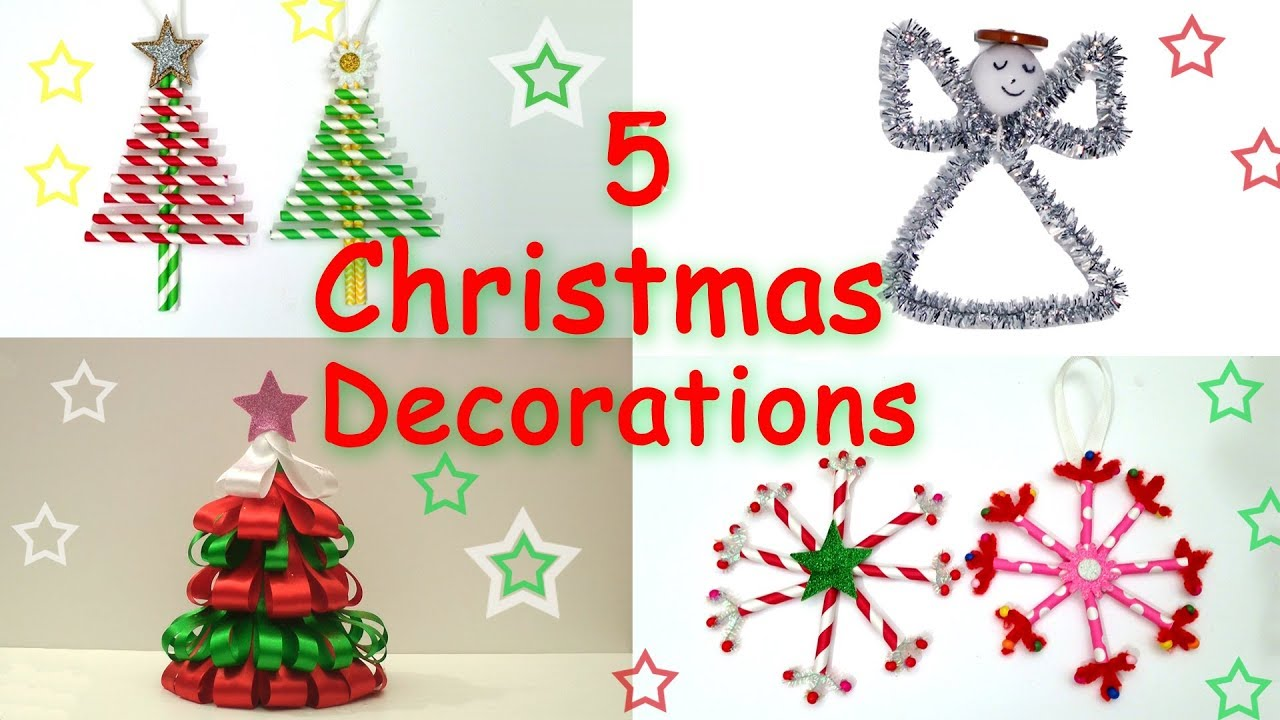 20 Easy Crafts Ideas for CHRISTMAS   Ana   DIY Crafts