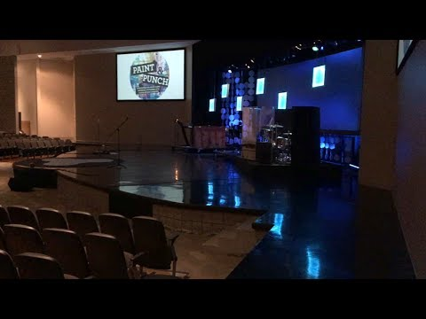 A tour of our church auditorium