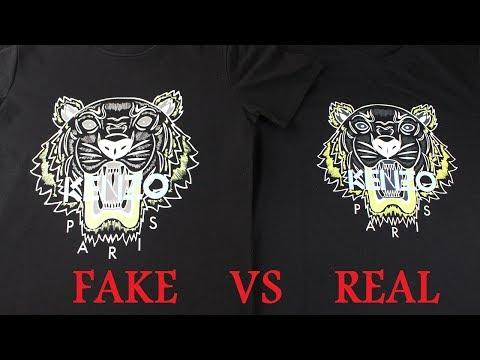 2017 Real vs Fake Kenzo T Shirt Guide