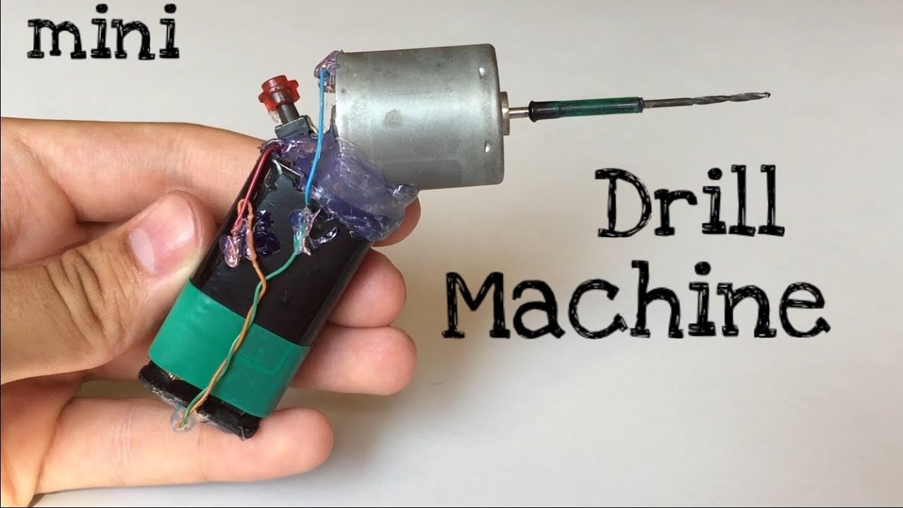 How to make a drill from a nail 49